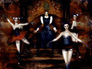 Mistress Framed Prints - Dark Cabaret Framed Print by Shanina Conway