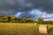Haying Photos - Dark Clouds Before Storm by Michal Boubin