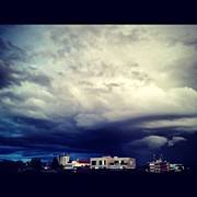 Storm Art - #dark #clouds #sky #storm by Julia Meyer