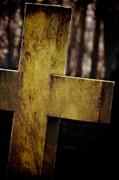 Dark Cross Print by Odd Jeppesen