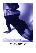 African American Nude Photos - Dark Divas - Curves by Jerry Taliaferro