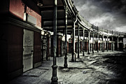 Storm Prints Photo Metal Prints - Dark Entrance Metal Print by Pixel Perfect by Michael Moore