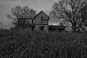 Toriaray Prints - Dark Homestead Print by Victoria Lawrence