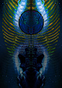 Alchemy Prints - Dark Matter Twins Print by David Kleinsasser