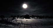 Rural Photos - Dark Night by Larysa Luciw