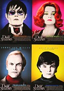 Movie Star Mixed Media - DARK Shadows by Dan Haraga