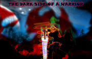 Devil Digital Art Originals - Dark Side Of A Warrior by Chetan Ranjan