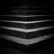 Dark Stairs Print by Mirko Chessari