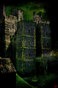 Sussex Digital Art Prints - Dark Towers Print by Chris Lord