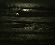 Ocean Paintings - Dark Water by Patricia Taylor