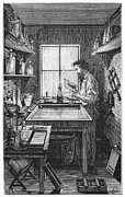 Darkroom Prints - DARKROOM, 19th CENTURY Print by Granger