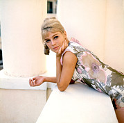 1960s Portraits Framed Prints - Darling, Julie Christie, 1965 Framed Print by Everett