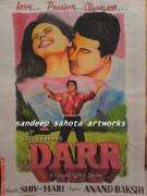 Hip Drawings - Darr by Sandeep Kumar Sahota