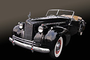 Historic Vehicle Prints - Darrin Cabriolet Print by Bill Dutting