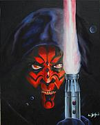 Sith Paintings - Darth Maul by Eric Belford