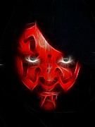 Sith Prints - Darth Maul Print by Paul Ward