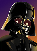 Darth Digital Art - Darth Vader by Mark Jennings