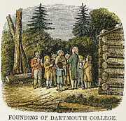 Hanover College Posters - Dartmouth College, 1770 Poster by Granger