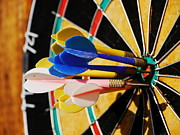 Winning Photo Posters - Darts Poster by Rolfo