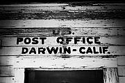 Calif Framed Prints - Darwin Post Office Framed Print by Troy Montemayor