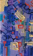 Electronic Paintings - Dashpotted Dilemma by Regina Valluzzi