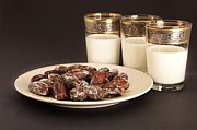 Moroccan Photos - Dates And Milk by Tom Gowanlock