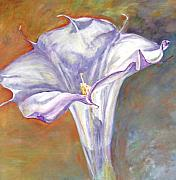 Datura Painting Prints - Datura Print by CJ  Rider