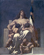 Republican Paintings - Daumier: Republic, 1848 by Granger