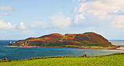 Argyll And Bute Prints - Davaar Island - Campbeltown Print by Chris Thaxter