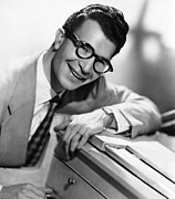 Jazz Pianist Framed Prints - Dave Brubeck, 1950s Framed Print by Everett