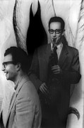 1950s Music Photos - Dave Brubeck, And Paul Desmond by Everett