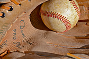 Baseball Glove Originals - Dave Cash Mitt by Bill Owen