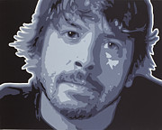 Dave Grohl Paintings - Dave Grohl by Sonny Forbes