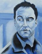 Dave Matthews Prints Paintings - Dave Matthews - Some Devil  by Joseph Palotas