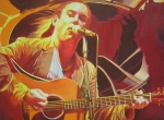 Dave Matthews Painting Acrylic Prints - Dave matthews at Vegoose Acrylic Print by Joshua Morton