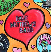 Dave Matthews Band Tribute Print by Jera Sky