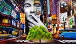 New York Painting Posters - Dave Matthews Dreaming Tree Poster by Joshua Morton