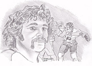 Dave Schultz- The Hammer Print by Chris  DelVecchio