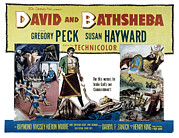 1950s Movies Framed Prints - David And Bathsheba, Gregory Peck Framed Print by Everett