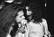 Van Halen Art - David and Eddie on Fire by Ben Upham