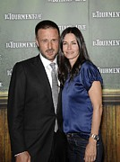 Premiere Metal Prints - David Arquette, Courteney Cox-arquette Metal Print by Everett