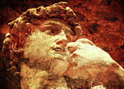 David Digital Art - DAVID by Michelangelo by Juan Jose Espinoza
