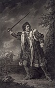 1750s Posters - David Garrick 1717-1779, English Actor Poster by Everett