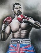 Napa Drawings Prints - David Haye Print by Anastasis  Anastasi