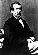 1800s Prints - David Livingstone, 1813-1873, Scottish Print by Everett