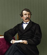 Anti-slavery Metal Prints - David Livingstone, Scottish Explorer Metal Print by Maria Platt-evans