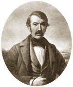David Livingstone, Scottish Explorer Print by Sheila Terry