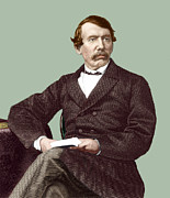Livingstone Metal Prints - David Livingstone, Scottish Missionary Metal Print by Sheila Terry