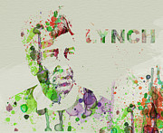 David Lynch Painting Prints - David Lynch Print by Irina  March