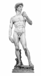 (murphy Elliott) Drawings Framed Prints - David-Michelangelo Framed Print by Murphy Elliott